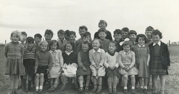 Hilton of Cadboll Primary School 1956